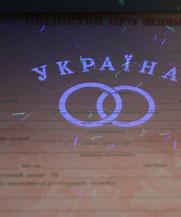 Диплом - микро ворс в УФ (Николаев)